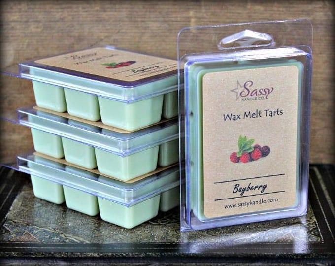 BAYBERRY| Wax Melt Tart | Wax Tart | Wax Melt | Phthalate Free | Soy Blend | Sassy Kandle Co.
