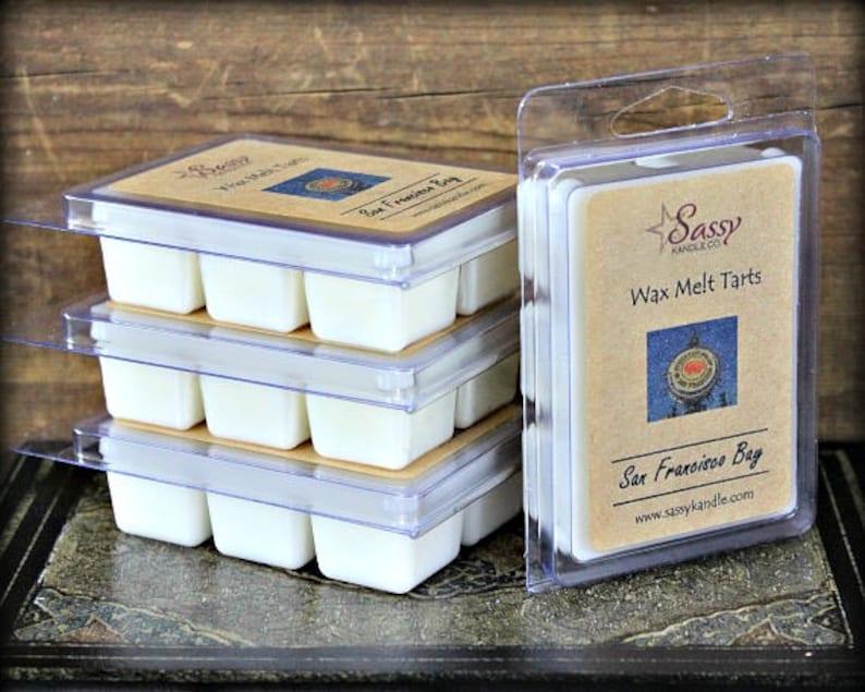 Soy Blend Phthalate Free Sassy Kandle Co. Wax Melt Wax Melt Tart SAN FRANCISCO BAY Wax Tart