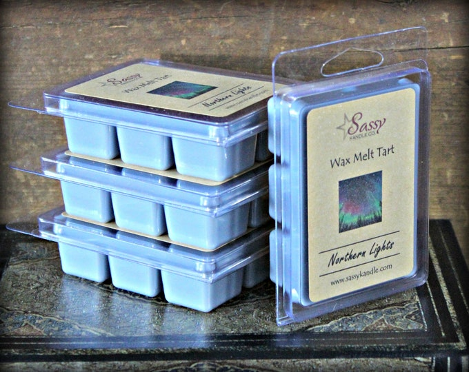 NORTHERN LIGHTS | Wax Melt Tart | Wax Tart | Wax Melt | Phthalate Free | Soy Blend | Sassy Kandle Co.