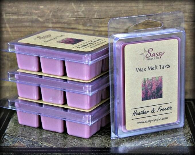 HEATHER & FREESIA | Wax Melt Tart | Sassy Kandle Co.