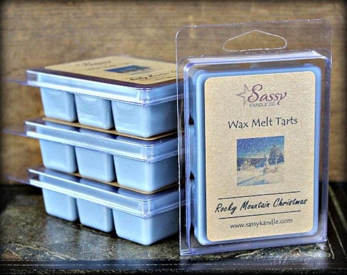 ROCKY MOUNTAIN CHRISTMAS | Wax Melt Tart | Wax Tart | Wax Melt | Phthalate Free | Soy Blend | Sassy Kandle Co.