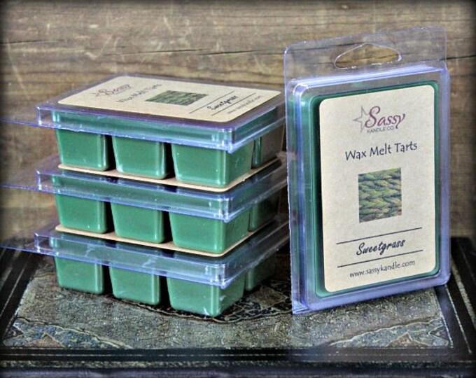 SWEETGRASS | Wax Melt Tart | Wax Tart | Wax Melt | Phthalate Free | Soy Blend | Sassy Kandle Co.