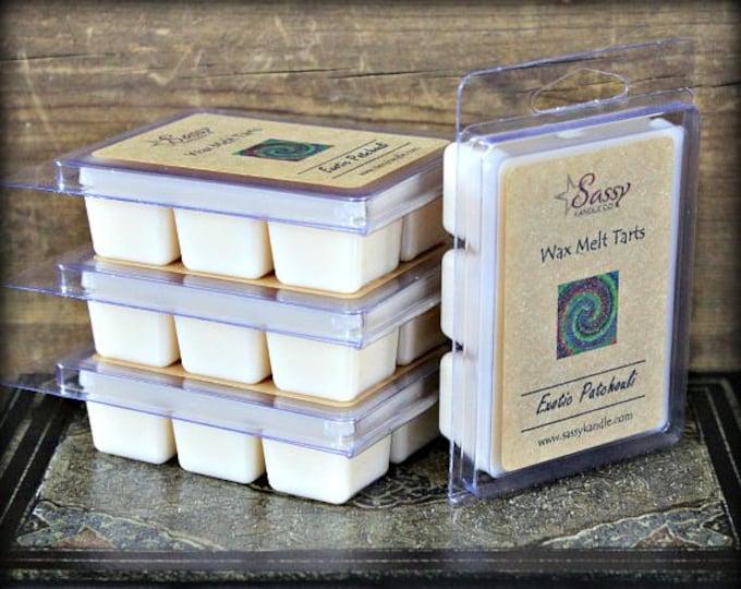 EXOTIC PATCHOULI | Wax Melt Tart | Wax Tart | Wax Melt | Phthalate Free | Soy Blend | Sassy Kandle Co.