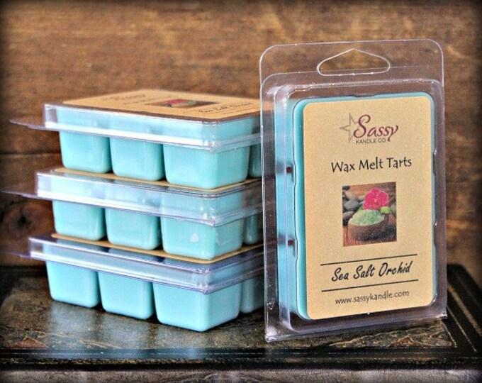 SEA SALT ORCHID | Wax Melt Tart | Wax Tart | Wax Melt | Phthalate Free | Soy Blend | Sassy Kandle Co.