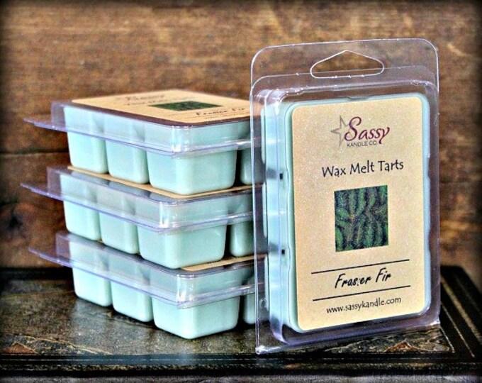 FRASER FIR TREE | Wax Melt Tart | Wax Tart | Wax Melt | Phthalate Free | Christmas | Soy Blend | Sassy Kandle Co.