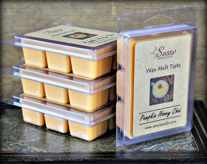 PUMPKIN HONEY CHAI | Wax Melt Tart | Wax Tart | Wax Melt | Soy Blend | Sassy Kandle Co.