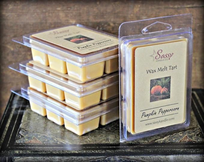 PUMPKIN PEPPERCORN | Wax Melt Tart | Wax Tart | Wax Melt | Pthalate Free | Soy Blend | Sassy Kandle Co.