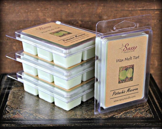 PISTACHIO MACARON | Wax Melt Tart | Wax Tart | Wax Melt | Pthalate Free | Soy Blend | Sassy Kandle Co.