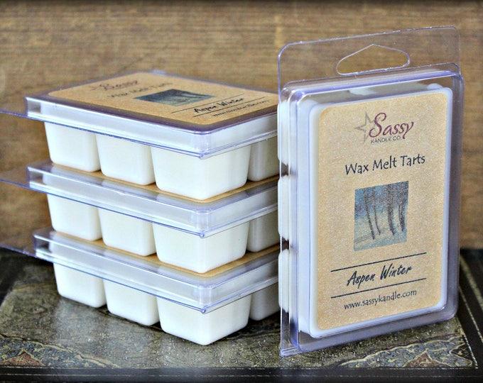 ASPEN WINTER | Wax Melt Tart | Wax Tart | Wax Melt | Phthalate Free | Christmas | Soy Blend | Sassy Kandle Co.
