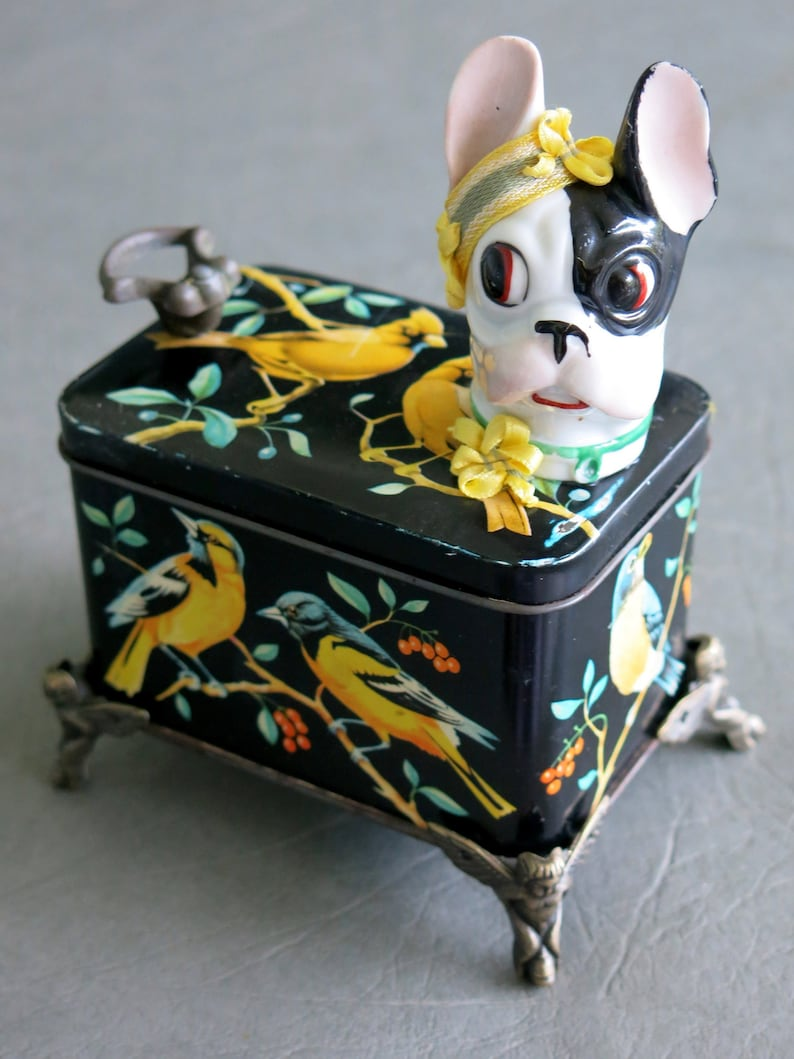 One of a kind assemblage dog Birdie.  Boston image 0