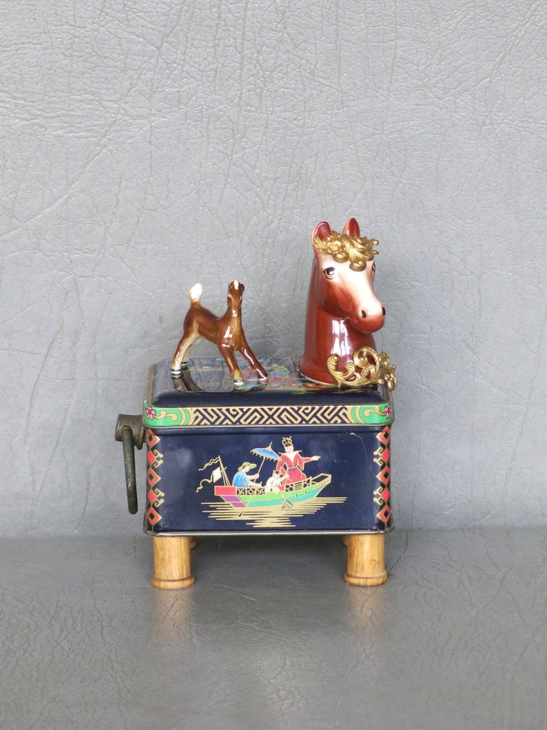 Assemblage pony.  One of a kind Taka and Tenshi. image 0