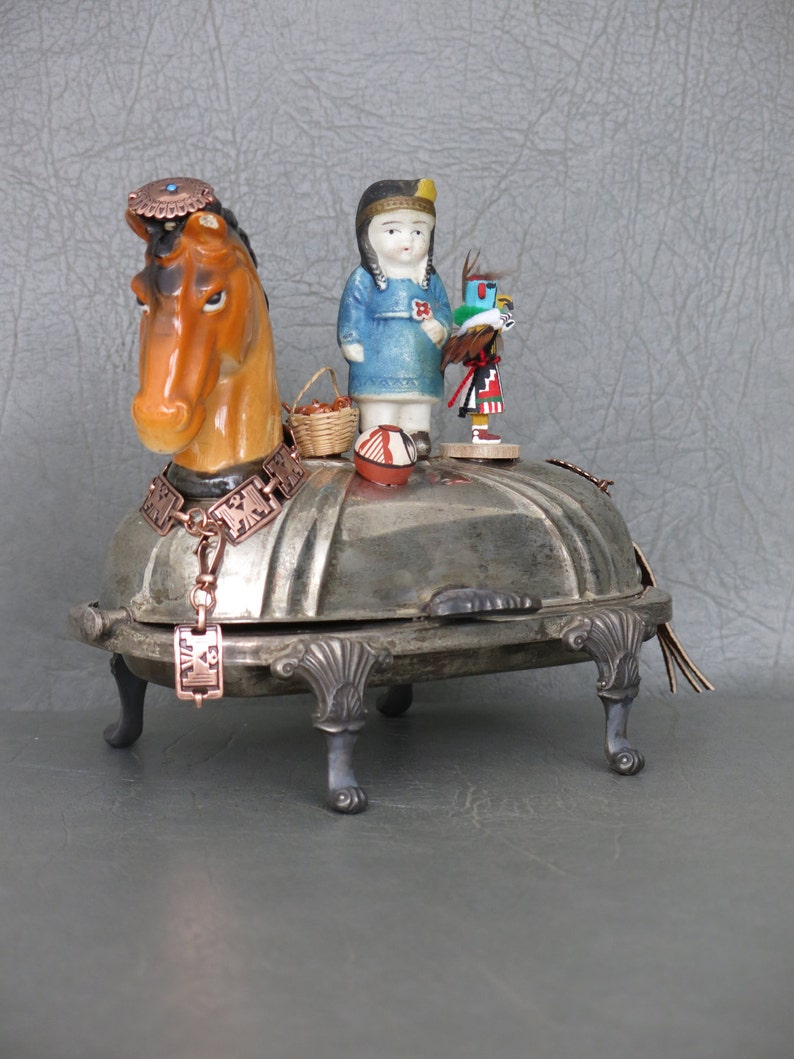 Native American Assemblage.  One of a kind southwest sculpture image 0