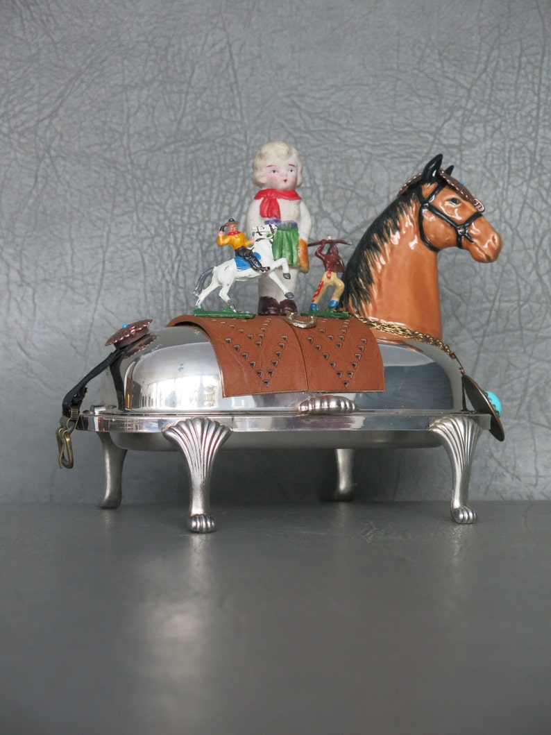 Cowgirl Assemblage.  One of a kind southwest assemblage image 0