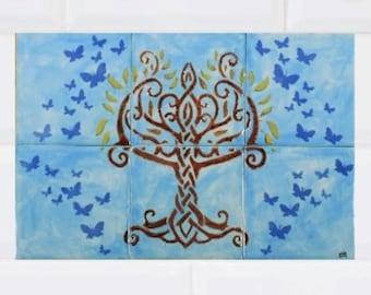 Tree of life tiles