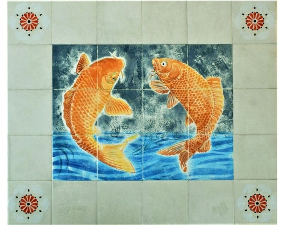 DIY Range Backsplash Kitchen Decor Tile mural Ceramic Tiles