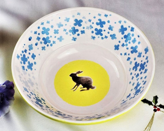 Decorative bowls, Modern Fruit bowls, Pottery.