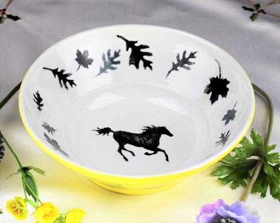 Bowls, Fruit, Pottery Handmade, Ceramic, Hand painted, Housewarming gift.