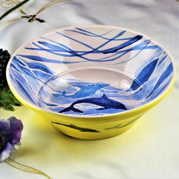 Decorative bowls, modern fruit bowls, handmade, ceramic.