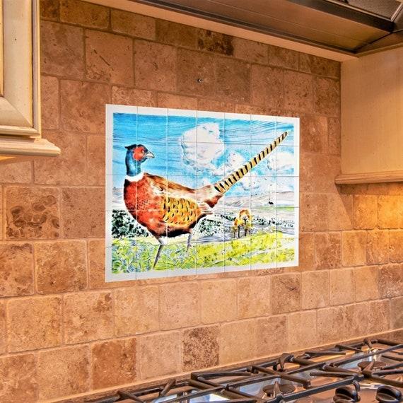 Kitchen Backsplash, Tile mural, Splashback for kitchens. ** We Can Also Do Any Size or Design **,(Send us  a message for more details)