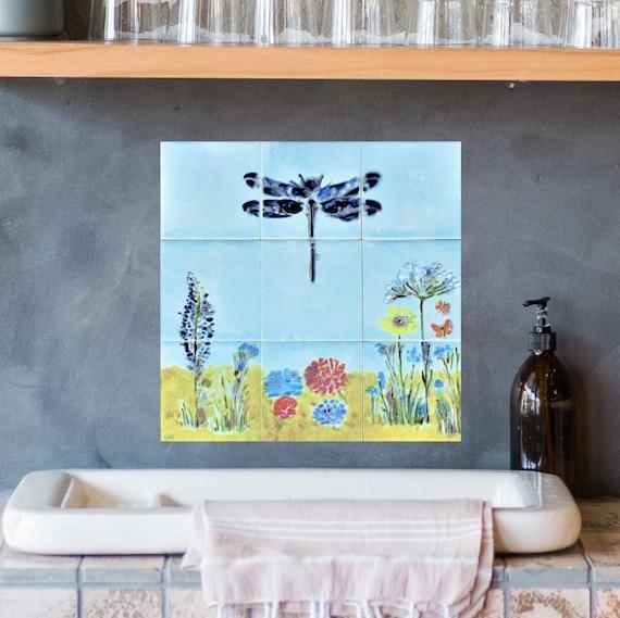 Backsplash Kitchen Ideas, Wall Tiles, Handmade, Free Shipping, CUSTOM SIZES.