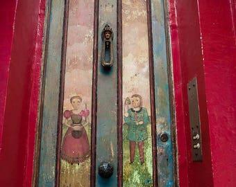London photography, portobello road print, doors of London, London door, notting hill, patina door, 4x6, 5x7, wall art, metal print