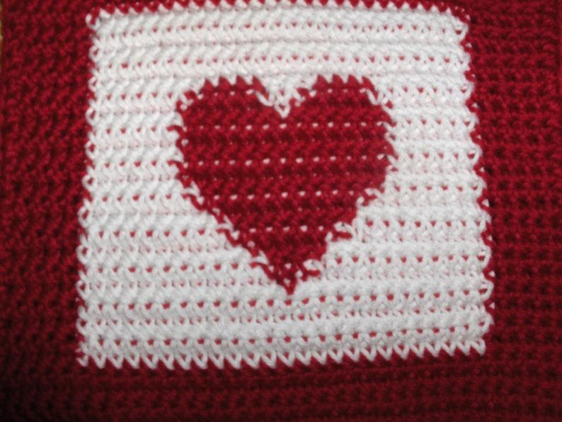 christmas decor, heart pot holder christmas pot holder crochet pot holder crocheted potholders christmas crochet