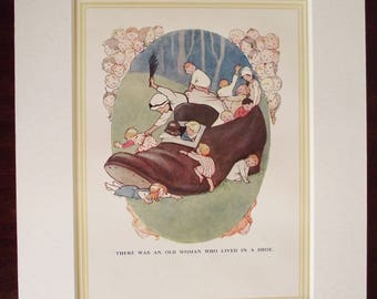 Original 1930's Edition 'Mother Goose Nursery Rhymes'