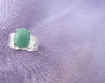 Sterling Silver Ring  Size 'J'  (4 5/8) (20)