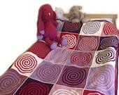 Everywhere Spirals Blanket Crochet Pattern WM2068