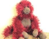 Knitted Wool Monkey Pattern WM2035