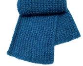 Scotty's Textured  Scarf - Easy Knitting Pattern WM2080