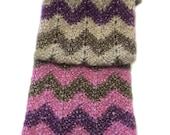 Chevron Scarf Knitting Pattern WM2053