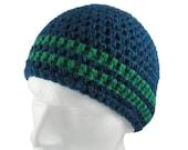 Rock Beanie Crochet Pattern WM2021