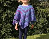Nessie's Poncho Crochet Pattern WM2070