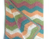 Ripple Baby Blanket Crochet Pattern WM2039