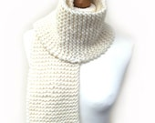 Beginner Scarf Knitting Pattern WM2036