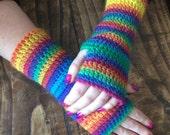 Easy Peasy Crochet Mitts Pattern WM2062