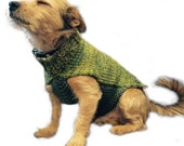 Riley Dog Coat Knitting Pattern WM2056
