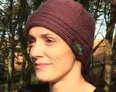 Chunky Spiral hat knitting Pattern WM2015