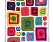 Baby Brights Blanket Crochet Pattern WM2050