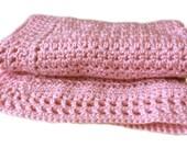 Sweetie Pie Baby Blanket Crochet Pattern WM2063