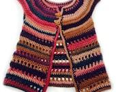 Martha Jacket Crochet Pattern WM2040