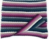 Winter Bramble Blanket Crochet Pattern WM2055