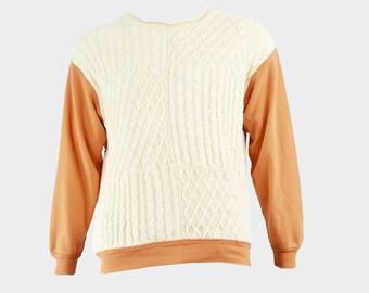 women/'s sweater men/'s knit knit pattern Handmade Magazine Tricot 12  Winter 2015 knitting explanations winter knit women/'s knit