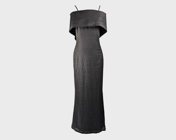 GIANFRANCO FERRE 90s Maxi Dress Designer Vintage L