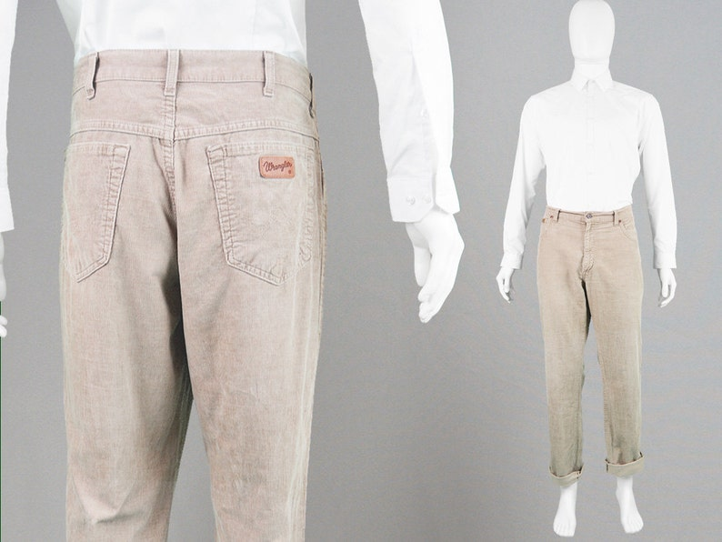 803221d6 Vintage WRANGLER Cords Pants 90s Grunge Jeans Corduroy Pants | Etsy