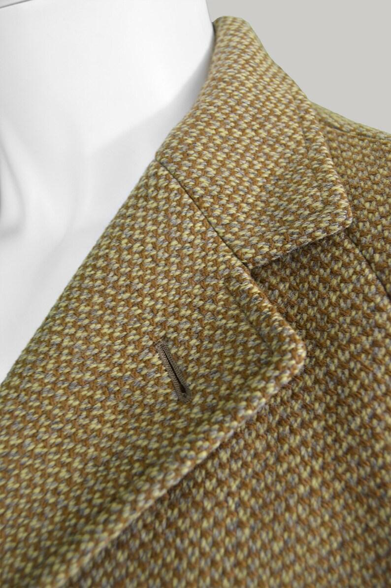 AQUASCUTUM vintage cappotto 60s Mens Coat 1960s lana cappotto uomini lana cappotto manica Raglan cappotto pura lana degli uomini del progettista