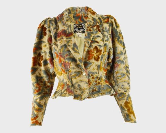 ARISTOS of Carnaby Street 70s Boho Jacket Puffed S