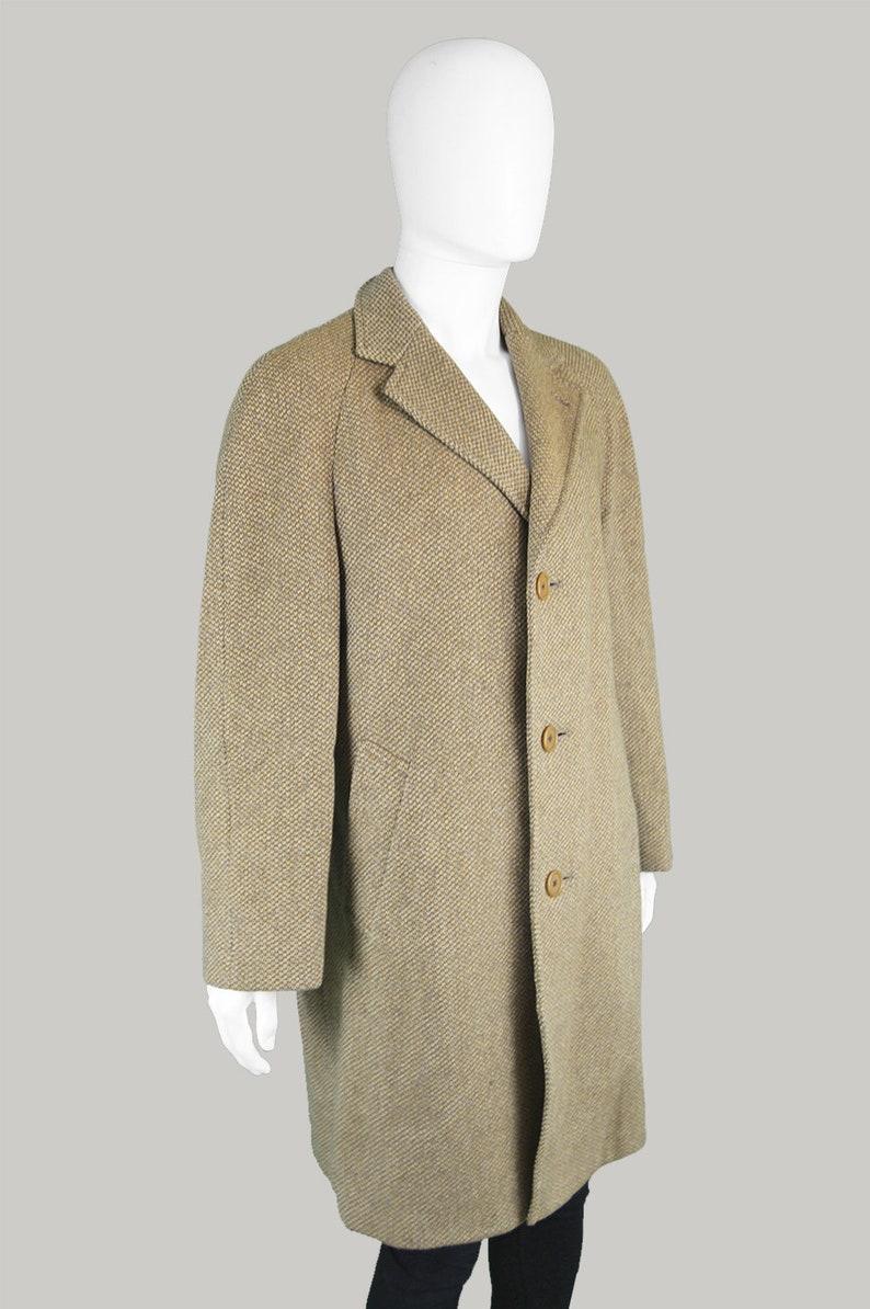 Manica Vintage Pura Progettista Aquascutum 60s Lana Coat