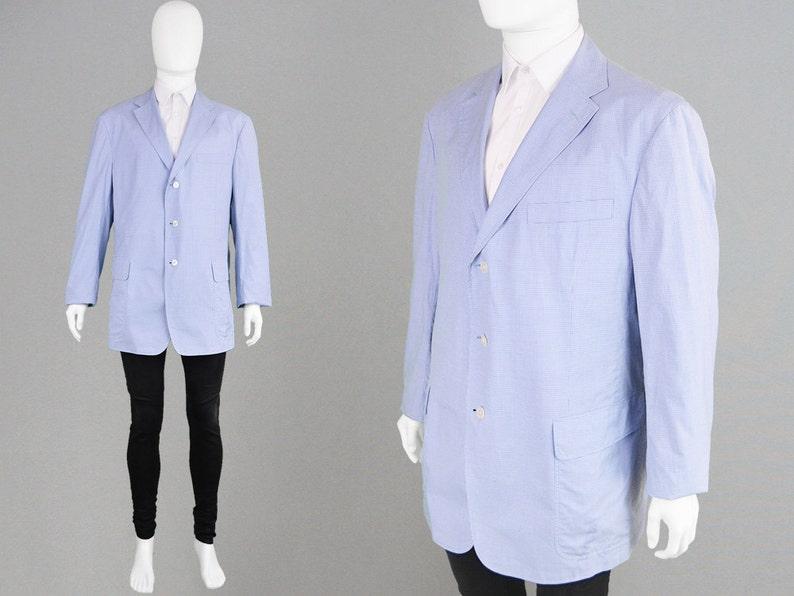Vintage 80s 90s Ralph Lauren Polo Lightweight Cotton Blazer Etsy